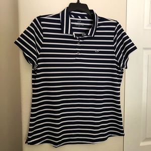 Vineyard Vines Performance Striped Polo Shirt